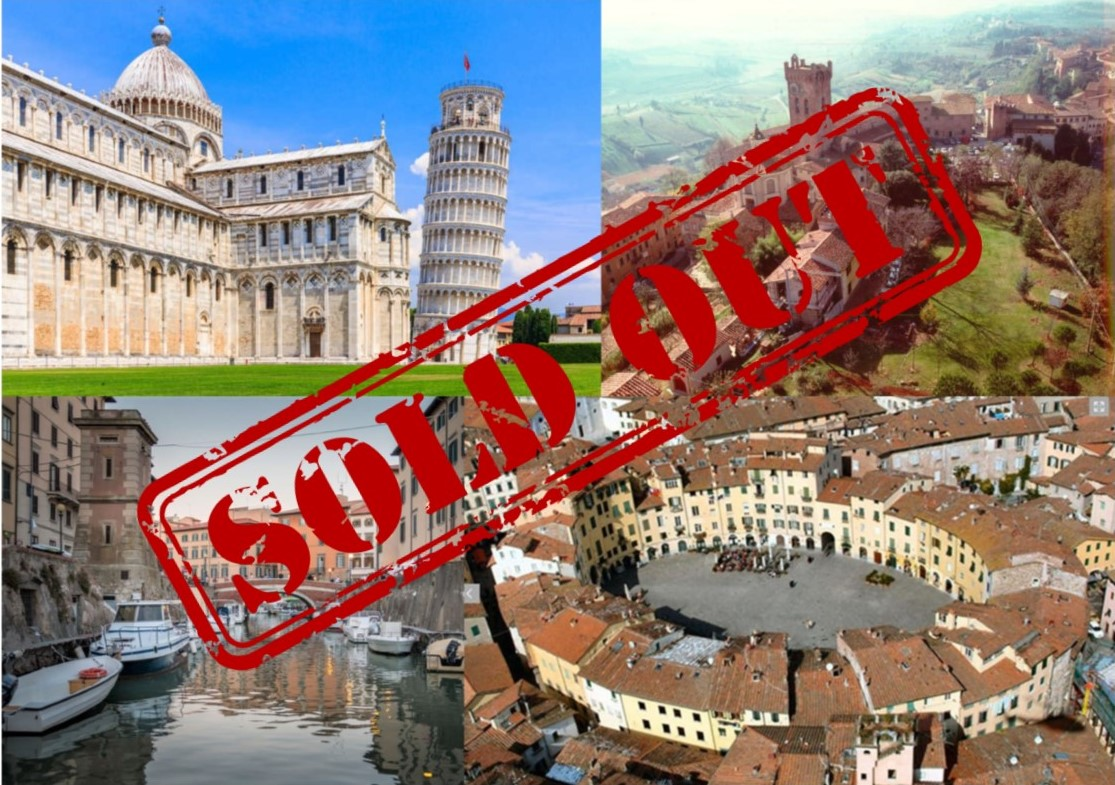 SOLD OUT ! SPECIALE CAPODANNO 2020 TOSCANA
